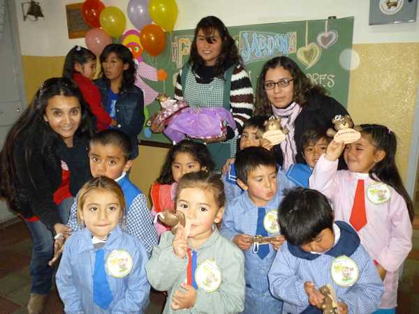 Los chicos de malvinas argentinas con nuevo jard n de for Jardin de infantes