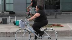 bicicleta obesidad mujer