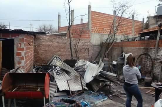 incendio casa pobreza vivienda habitacional