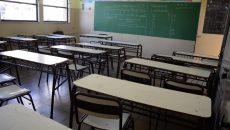 Aula vacía paro docente