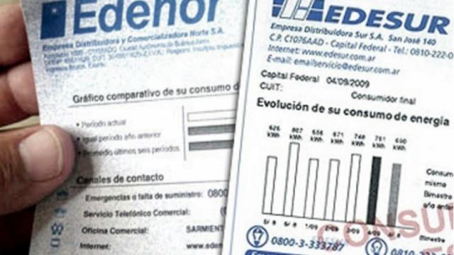 Edesur tarifazo luz electricidad aumento