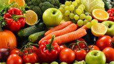 frutas, verduras, alimentos, salud