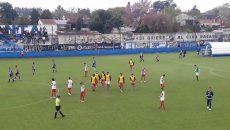 San Martín de Burzaco, fútbol, partido