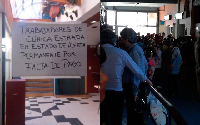 Clínica Estrada, despidos, Lanús