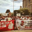 Cresta Roja, reclamo, marcha