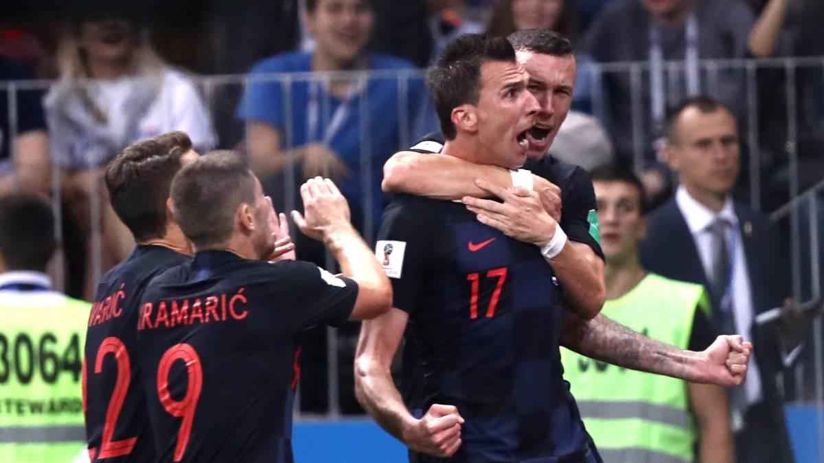 44797 Croacia Elimino A Inglaterra Y Jugara La Final Del Mundial Contr...