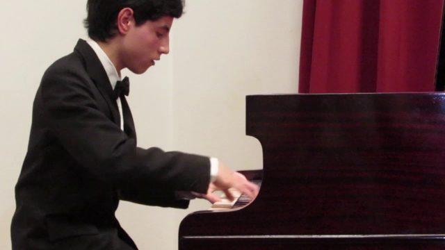 Facundo Navarro, piano, Quilmes