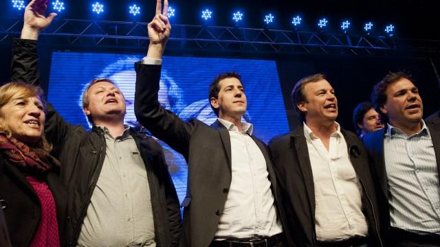 En su cierre de campaña la fórmula encabezada por Cascallares y Lepere había recibido el apoyo de Wado De Pedro y Alberto Pérez.